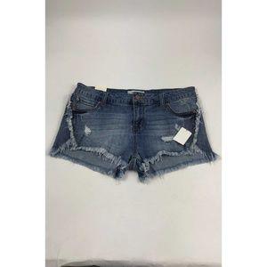 Vintage Havana Blue Jean Shorts AB187